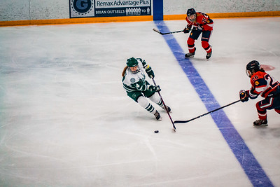 Holy Family Girls Varsity Hockey vs. Orono  Dec 18, 2018: Taylor Koeppl '23 (14)