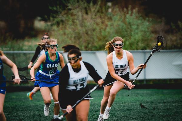 Holy Family Varsity Girls Lacrosse vs. Blake 5/9/19: Brielle Bornhorst (27) '19