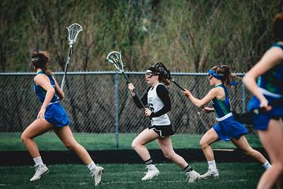 Holy Family Varsity Girls Lacrosse vs. Blake 5/9/19: Salome Greene (36) '19