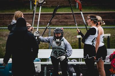 Holy Family Varsity Girls Lacrosse vs. Blake 5/9/19: Bella Dervin (42) '19