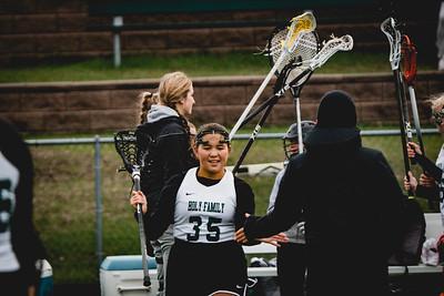 Holy Family Varsity Girls Lacrosse vs. Blake 5/9/19: Kenzie King (35) '19
