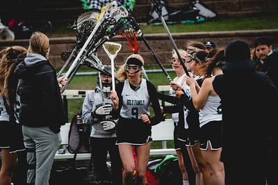 Holy Family Varsity Girls Lacrosse vs. Blake 5/9/19: Libby Kamp (9) '22