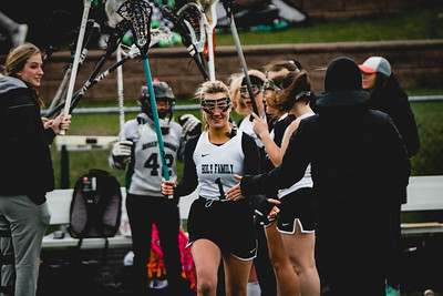 Holy Family Varsity Girls Lacrosse vs. Blake 5/9/19: Maddie Ricke (1) '19