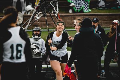 Holy Family Varsity Girls Lacrosse vs. Blake 5/9/19: Claire Melander (26) '19