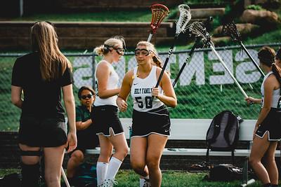 Holy Family Varsity Girls Lacrosse vs. Orono 5/15/19: Alex Pellicci (50) '21