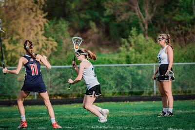 Holy Family Varsity Girls Lacrosse vs. Orono 5/15/19: Salome Greene (36) '19