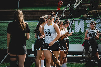 Holy Family Varsity Girls Lacrosse vs. Orono 5/15/19: Claire Melander (26) '19