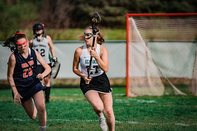 Holy Family Varsity Girls Lacrosse vs. Orono 5/15/19: Brielle Bornhorst (27) '19