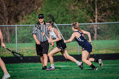 Holy Family Varsity Girls Lacrosse vs. Orono 5/15/19: Shannon Hickey (49) '19