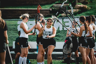 Holy Family Varsity Girls Lacrosse vs. Orono 5/15/19: Kenzie King (35) '19