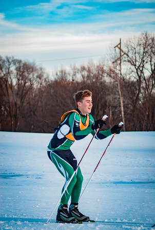 Holy Family Classic Nordic @ Theodore Wirth Park Jan 3, 2019: Pat Ricke '21