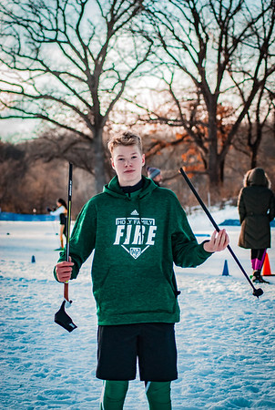 Holy Family Classic Nordic @ Theodore Wirth Park Jan 3, 2019: Owen Lund '21
