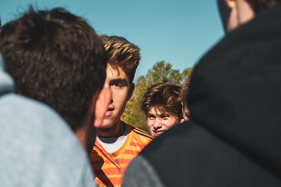 Holy Family Varsity Soccer vs. Mound Westonka Oct 13, 2018: Bryce Richter '20 (1)