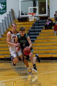 Holy Family Varsity Boys Basketball vs. Jordan, 1/23/20: David Torborg '20 (4)