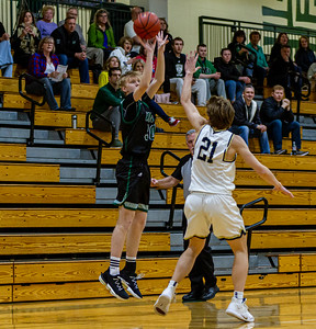 Holy Family's Noah Seck '21 (30) vs. Providence Academy  at Section 5AA Round of 16 - Collin Nawrocki/The Phoenix