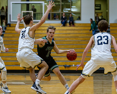 Holy Family's Nick Hendler '20 (5) vs. Providence Academy  at Section 5AA Round of 16 - Collin Nawrocki/The Phoenix