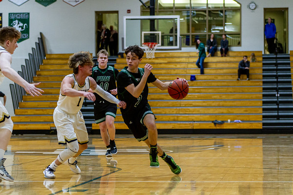 Holy Family's Sam McNulty '20 (2) vs. Providence Academy  at Section 5AA Round of 16 - Collin Nawrocki/The Phoenix