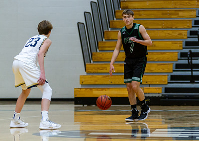 Holy Family's David Torborg '20 (4) vs. Providence Academy  at Section 5AA Round of 16 - Collin Nawrocki/The Phoenix
