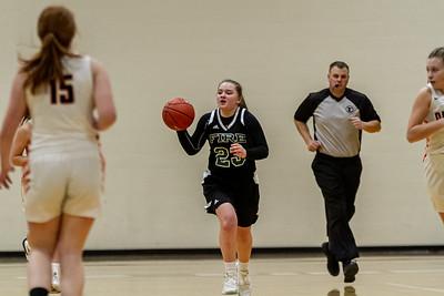 Holy Family Varsity Girls Basketball vs. Delano, 1/10/20: Nicole Bowlin '23 (23)