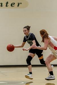 Holy Family Varsity Girls Basketball vs. Delano, 1/10/20: Sophia Hall '23 (9)
