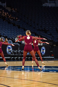 Holy Family's Olivia Sadowski '22 at 2020 MSHSL State Jazz Tournament Prelim - Collin Nawrocki/The Phoenix