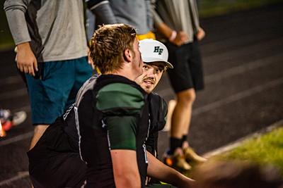 Holy Family Varsity Football vs. Dassel-Cokato, 9/6/19: Carson Liebeg '20 (54)
