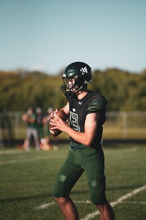 Holy Family Varsity Football vs. Mound Westonka, 8/29/19: Jake Kirsch '21 (13)