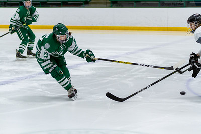 Holy Family's Justina Valentini '23 (23) vs. Eden Prairie at Braemar Arena - Collin Nawrocki/The Phoenix