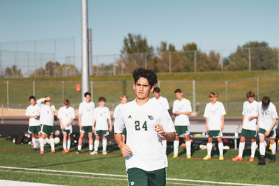 Holy Family Varsity Soccer vs. Delano, 9/19/19: Sebastian Bojorquez-Rojas '21 (24)