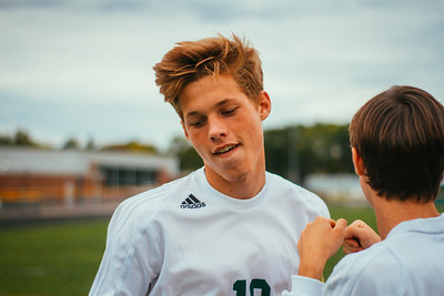 Holy Family Boys Varsity Soccer vs. Hutchinson, 9/26/19: Ben Creager '20 (10)