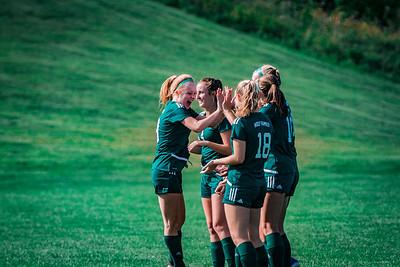 Holy Family Girls Varsity Soccer vs. DeLaSalle, 8/22/19: Katie Anseth '22 (19)