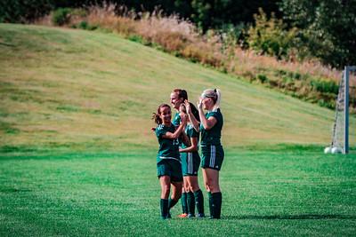 Holy Family Girls Varsity Soccer vs. DeLaSalle, 8/22/19: Hailey Pavelka '22 (13)