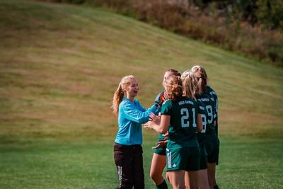 Holy Family Girls Varsity Soccer vs. DeLaSalle, 8/22/19: Sydney Paulsen '20 (1)