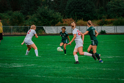 Holy Family Girls Varsity Soccer vs. Shakopee, 9/21/19: Hailey Pavelka '22 (13)