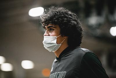 Holy Family Boys Basketball lost to the Orono Spartans 82-62 on Friday, January 29, 2021 at Holy Family Catholic High School