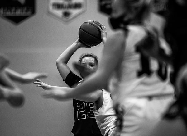 Holy Family Girls Basketball beat the New Prague Trojans 77-55 on Tuesday, January 27, 2021 at Holy Family Catholic High School