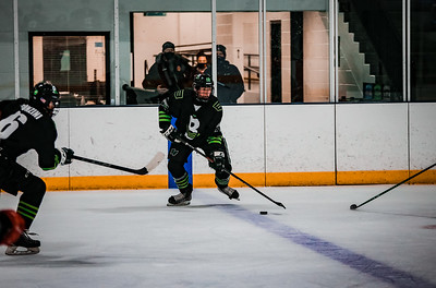 The Back Channel Bruisers fell to the Fortis Wolfpack 3-1 on Wednesday, November 11, 2020 at St. Louis Park Recreation Center. Collin Nawrocki / The Phoenix
