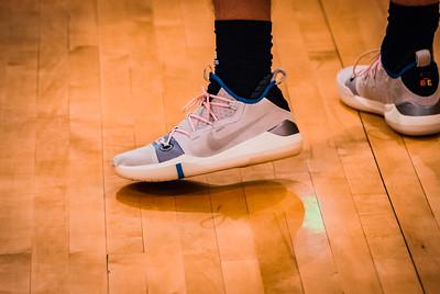 Holy Family Boys Varsity Basketball vs. Annandale Dec 20, 2018: Blake Stedronsky '20 (34)