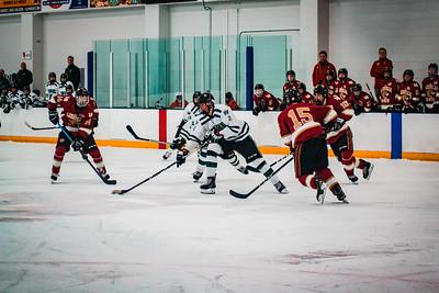 Holy Family Boys Varsity Hockey vs. Lakeville South Dec 28, 2018: Eric Rinzel '19 (2)