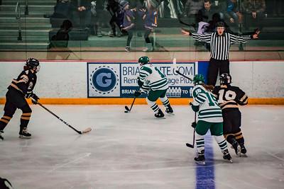 Holy Family Girls Varsity Hockey vs. Chaska/Chanhassen Nov 27, 2018: MacKenzie McMillan '22 (11)
