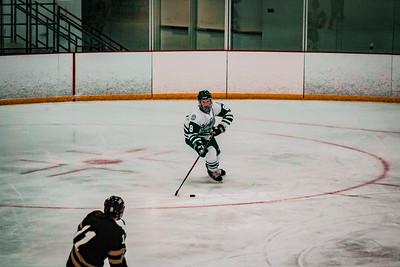 Holy Family Girls Varsity Hockey vs. Chaska/Chanhassen Nov 27, 2018: Maeve Kelly '22 (8)