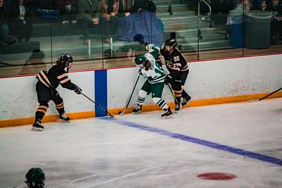 Holy Family Girls Varsity Hockey vs. Chaska/Chanhassen Nov 27, 2018: Maddie Morgan '22 (16)