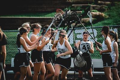 Holy Family Varsity Girls Lacrosse vs. Orono 5/15/19: Brielle Bornhorst (27) '19