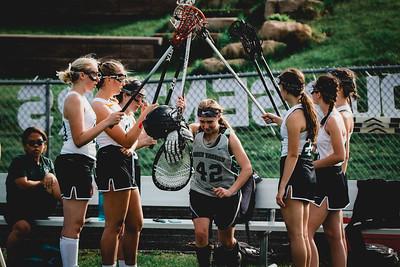Holy Family Varsity Girls Lacrosse vs. Orono 5/15/19: Bella Dervin (42) '19