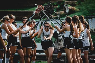 Holy Family Varsity Girls Lacrosse vs. Orono 5/15/19: Maria Torborg (17) '19