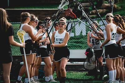 Holy Family Varsity Girls Lacrosse vs. Orono 5/15/19: Maddie Ricke (1) '19
