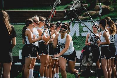Holy Family Varsity Girls Lacrosse vs. Orono 5/15/19: Claire Melander (26) '19