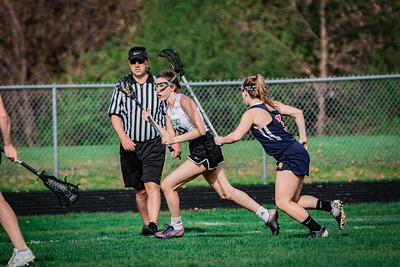 Holy Family Varsity Girls Lacrosse vs. Orono 5/15/19: Shannon Hickey (49) '19