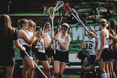 Holy Family Varsity Girls Lacrosse vs. Orono 5/15/19: Libby Kamp (9) '22