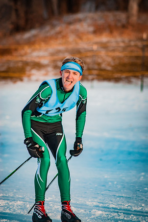 Holy Family Classic Nordic @ Theodore Wirth Park Jan 3, 2019: Aidan Olsen '20